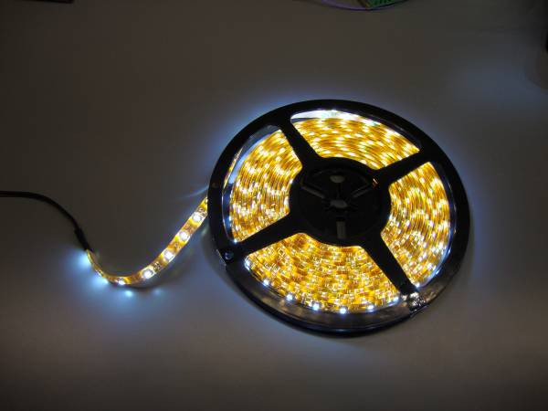 12V 5m Flexible led strip cold white