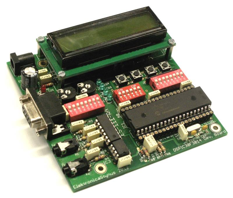DSPIC30F3014 development board kit