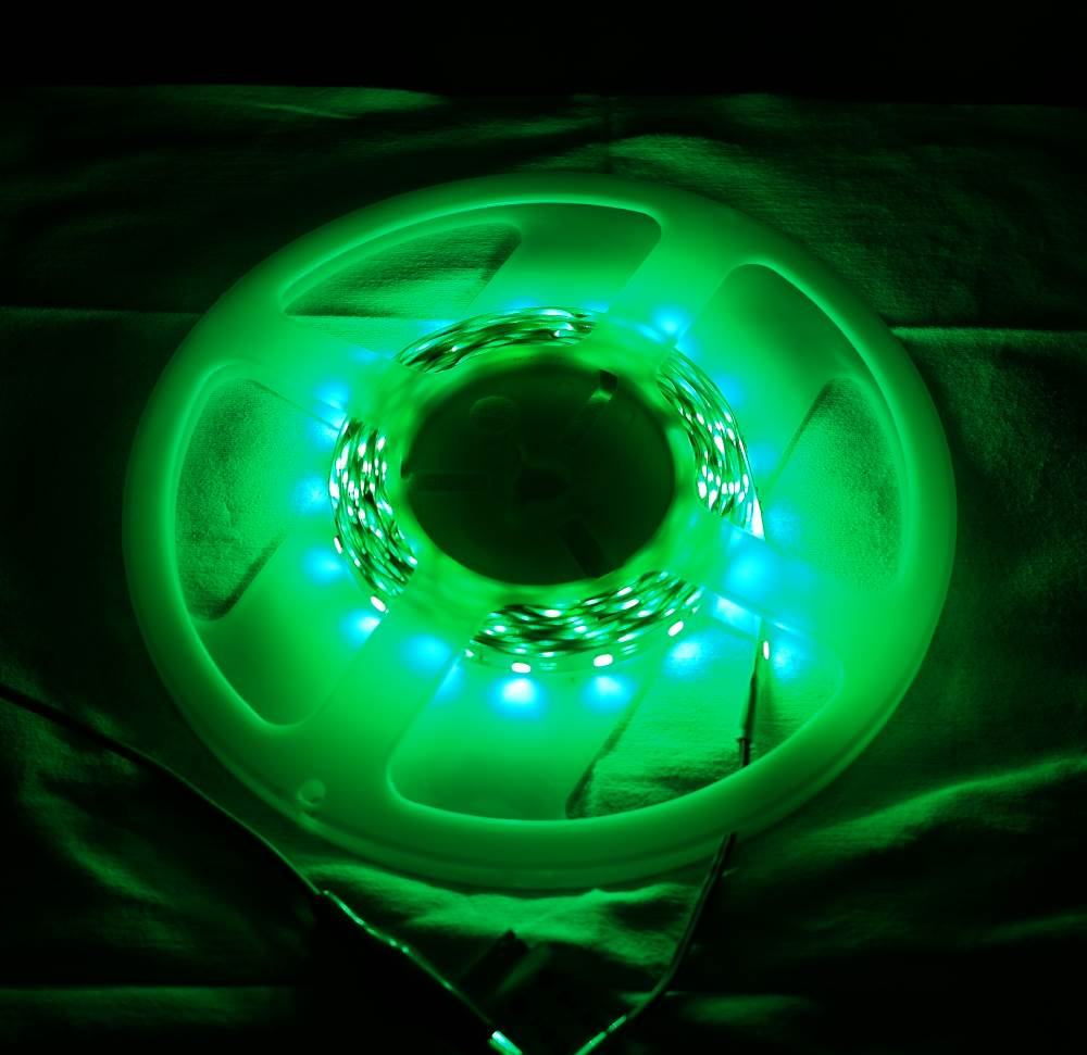 12V 5m Flexible led strip green [Low Cost]