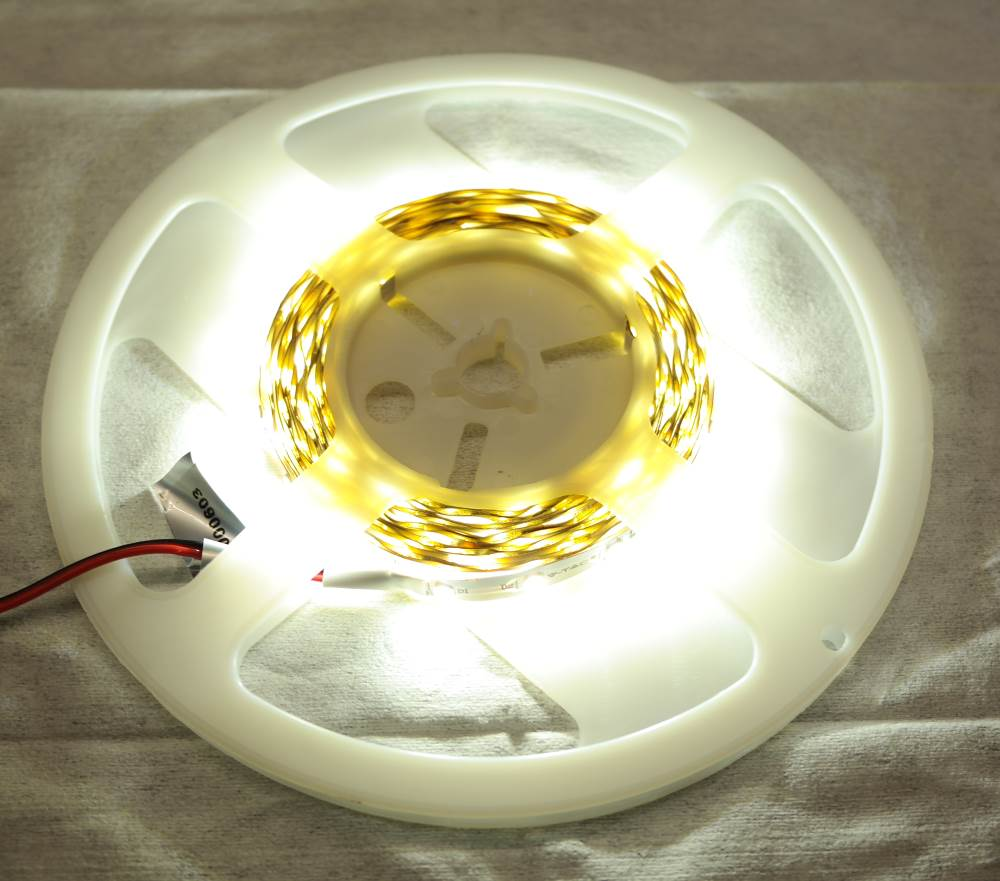 12V 5m Flexible led strip neutral white[Low Cost]