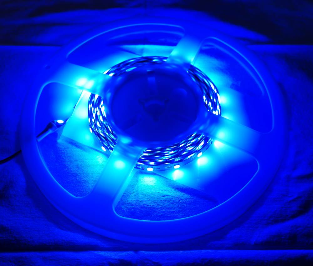 12V 5m Flexible led strip blue [Low Cost]